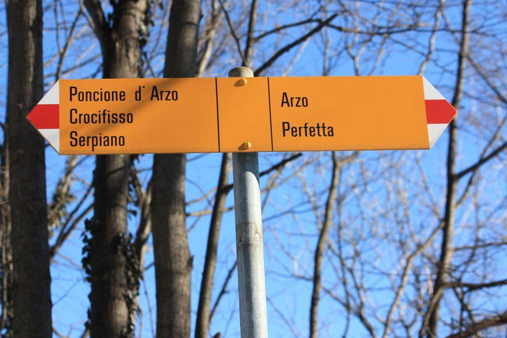 Escursione al Poncione d'Arzo del 07.02.2010