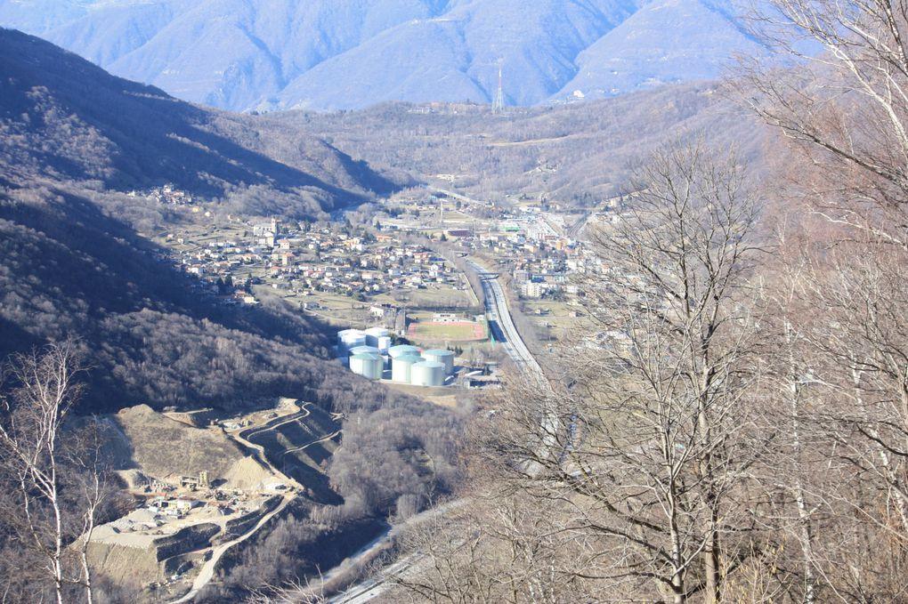 Escursione del 06.03.2010 ad anello attorno al Monte Bigorio