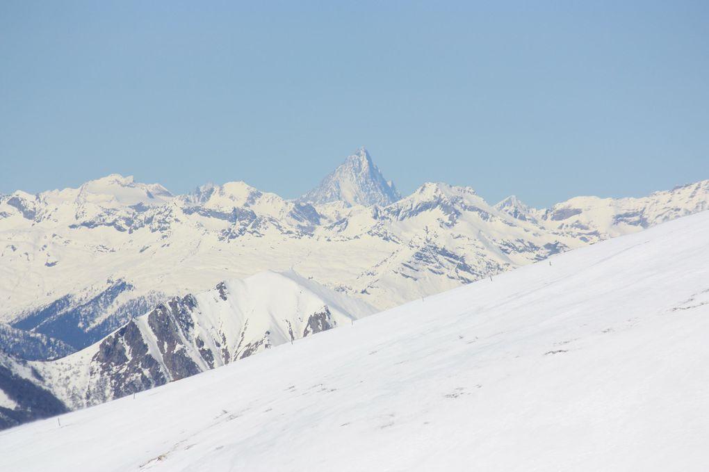 Foto dell'escursione da Corticiasca al Monte Bar, via alpe Musgattina e capanna Bar del 14.03.2010