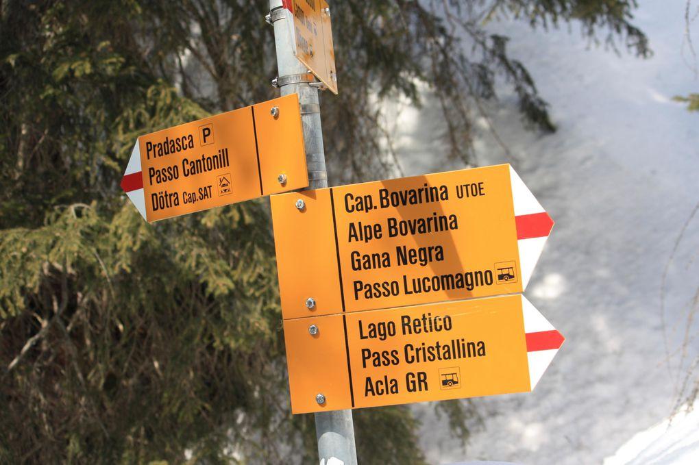Foto dell'escursione del 19.03.2010 alla capanna Bovarina e alpe Bovarina (valle di Blenio)