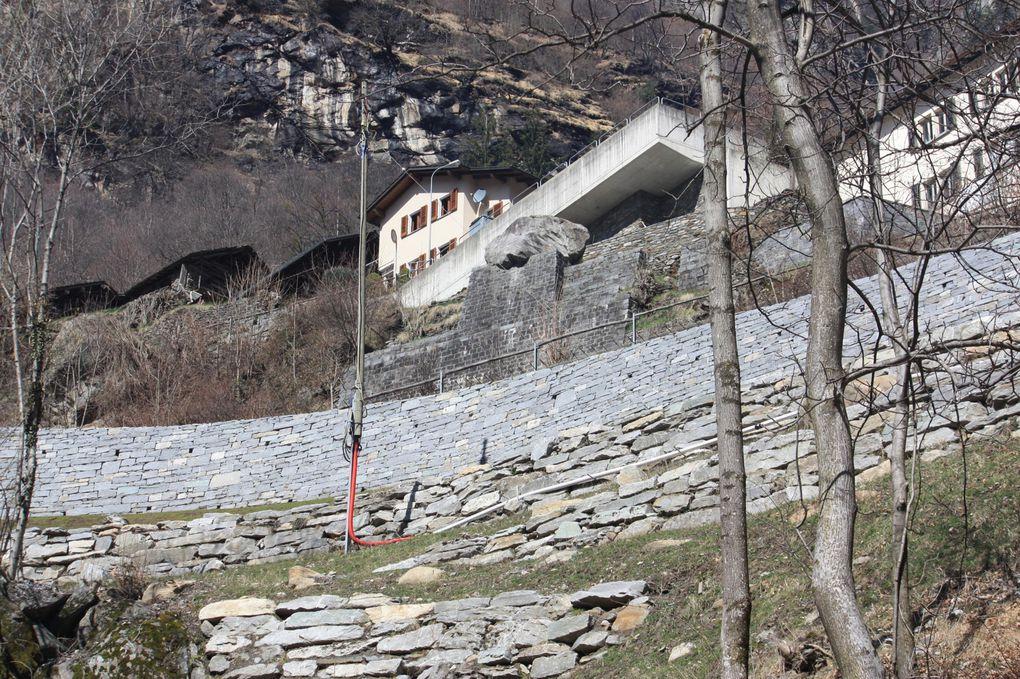 Foto dell'escursione in Val Calanca del 27.03.2010