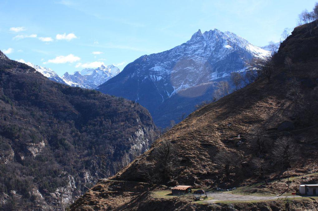 Foto dell'escursione in Val d'Ambra (Personico) del 28.03.2010
