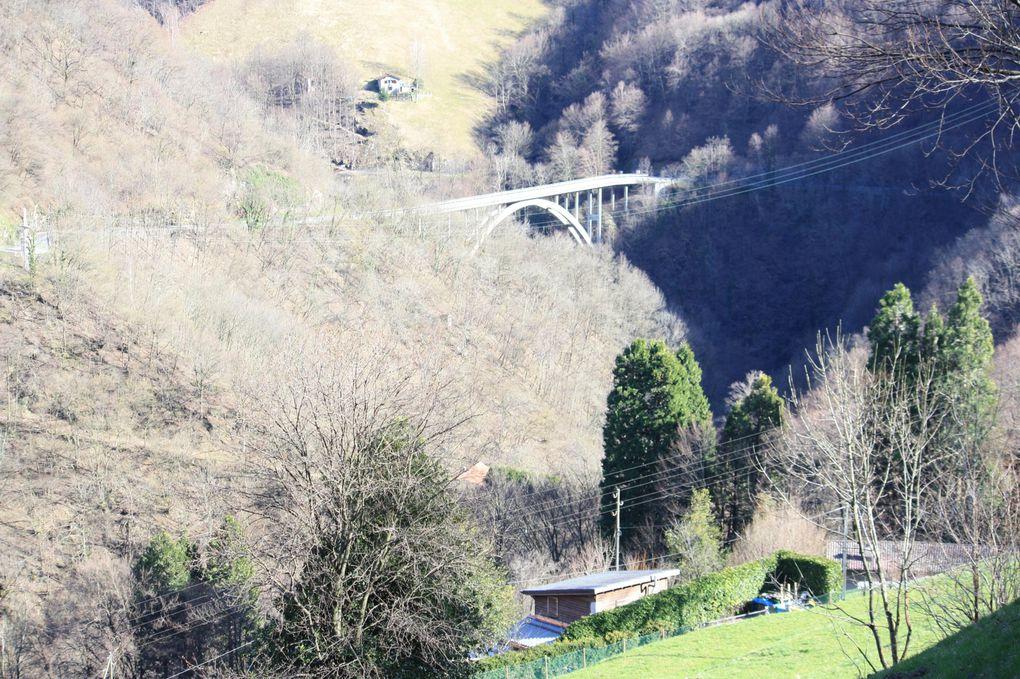 Album fotografico dell'escursione in valle di Muggio del 05.04.2010