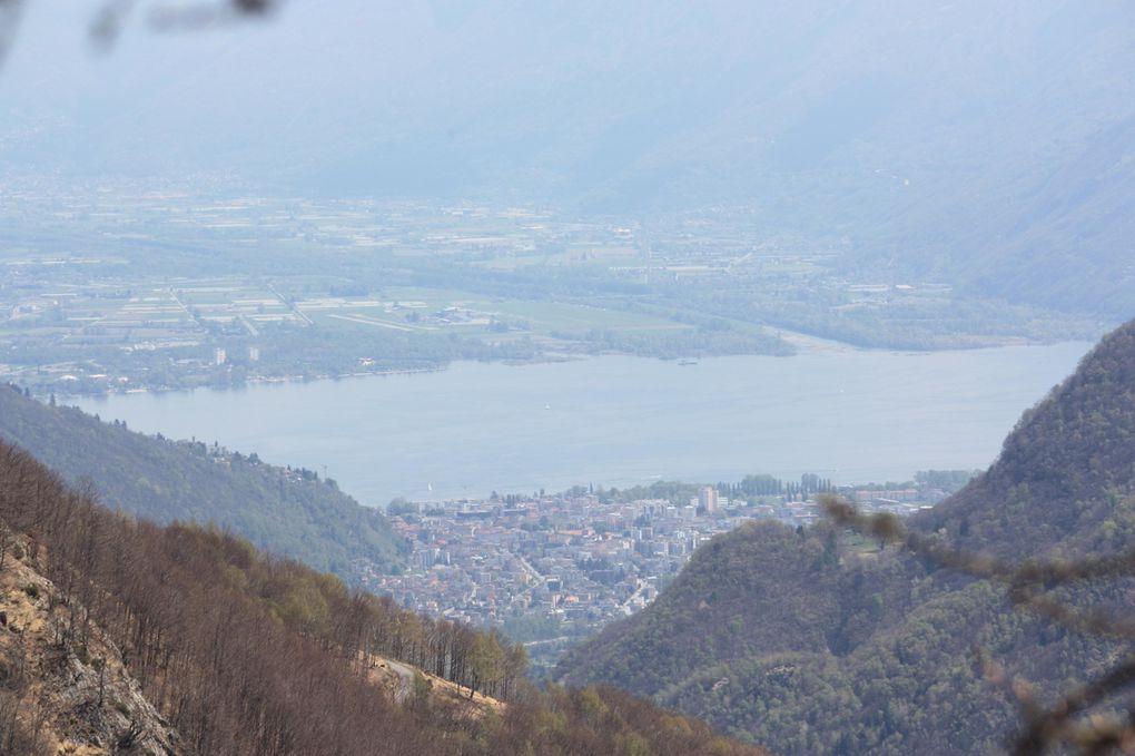 Foto dell'escursione del 25.04.2010 nelle Centovalli, da Intragna ai Monti di Comino via Costa, Selna, Drüi.
