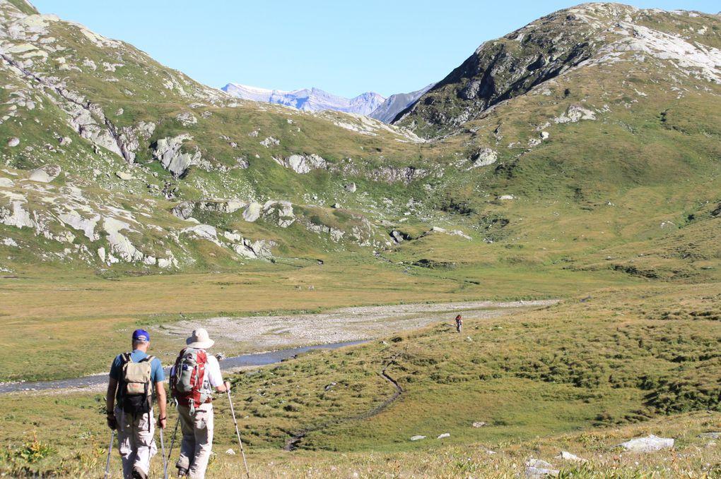 Foto della seconda giornata in Greina: capanna Motterascio, Crap la Crusch, Camona, capanna Terri, Crap la Crusch, capanna Motterascio, alpe Garzott, lago del Luzzone.
