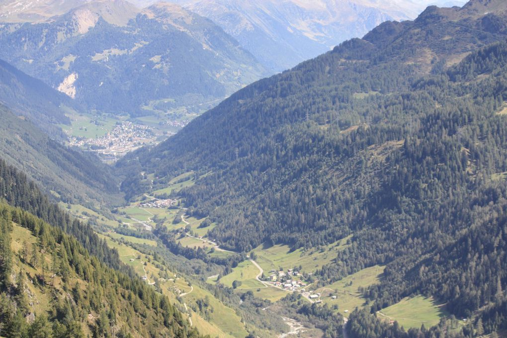 Album fotografico dell'escursione del 12.09.2010 dall'alpe Cruina alla galleria Bianchi (valle Bedretto)