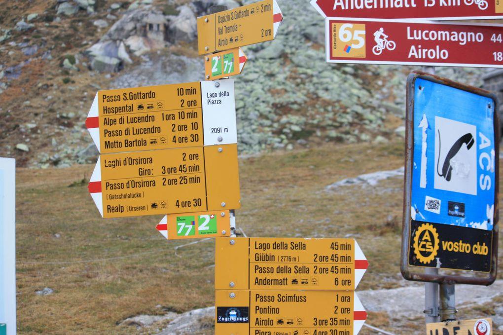 Album fotografico dell'escursione da Airolo a Göschenen del 10.10.2010. Prima parte, da Airolo ad Hospental.