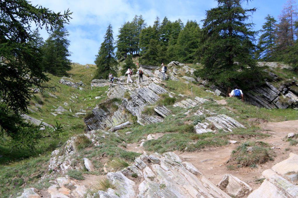 Album fotografico dell'escursione da Cogne al rifugio Vittorio Sella (Valle d'Aosta) via Valnontey