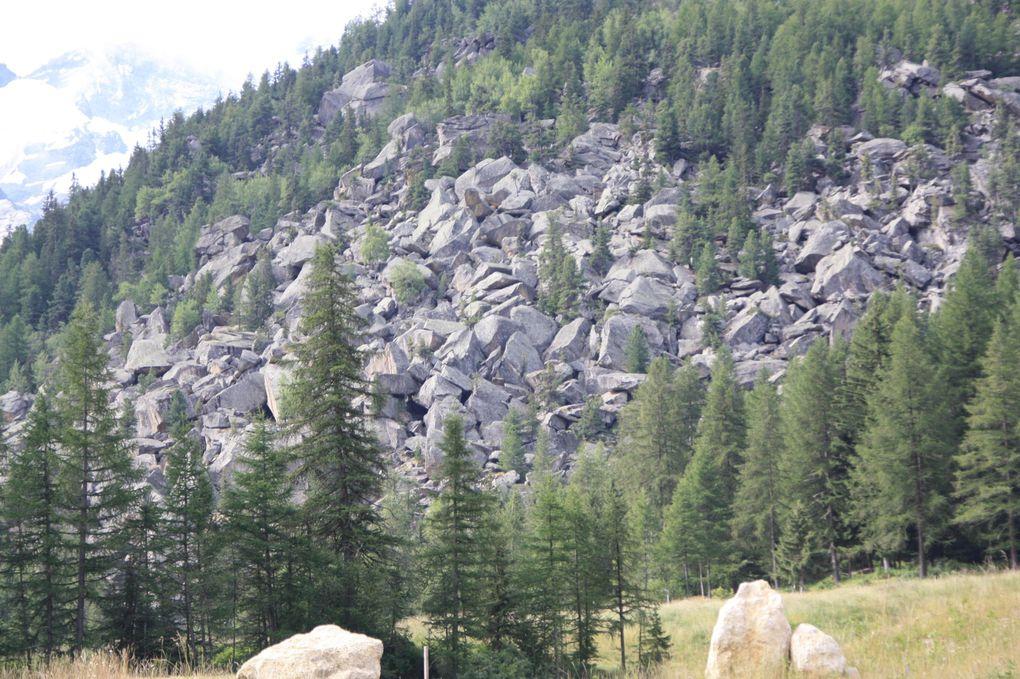 Album fotografico dell'escursione da Cogne all'alpe de Loie e lago di Loie del 26.07.2011