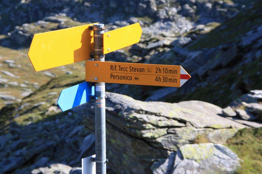 Album fotografico dell'escursione del 20.08.2011, dalla capanna Efra a Personico passando dal passo del Gagnone, valle del Gagnone e val d'Ambra.