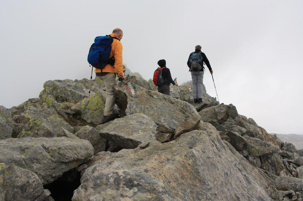 Album fotografico dell'escursione lungo il Sentiero degli Stambecchi (Steinbockweg) del 03.09.2011