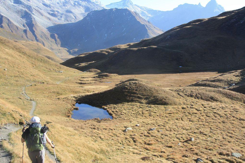 Album fotografico dell'escursione in Greina del 01.10.2011 (giorno 1 di due).