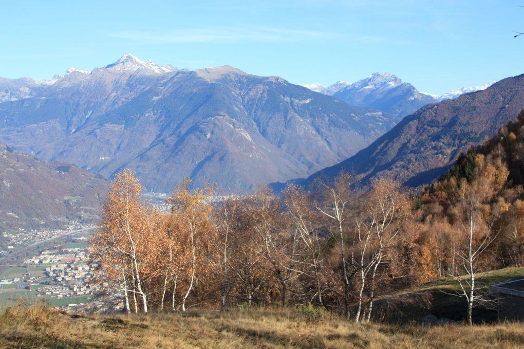 Album fotografico dell'escursione del 13.11.2011 dall'alpe di Croveggia (Camorino) a Vaglio (Capriasca) passando per boschi del Ticino.