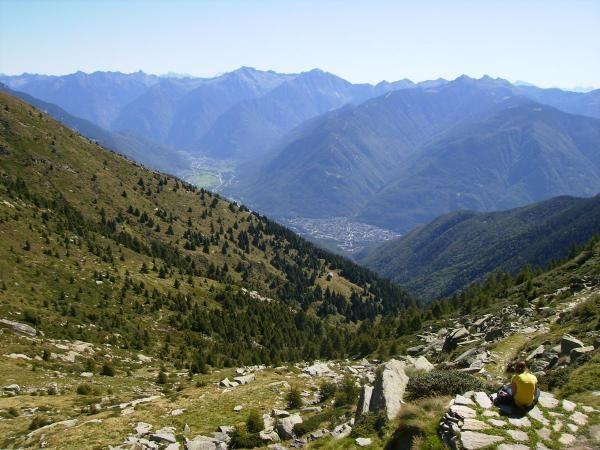 Mornera, capanna Albagno, cima del Gaggio