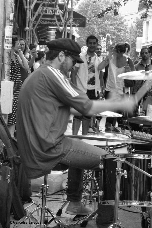 Paris, fête de la musique 2014.