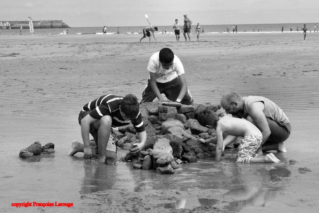 Album - La plage en noir et blanc
