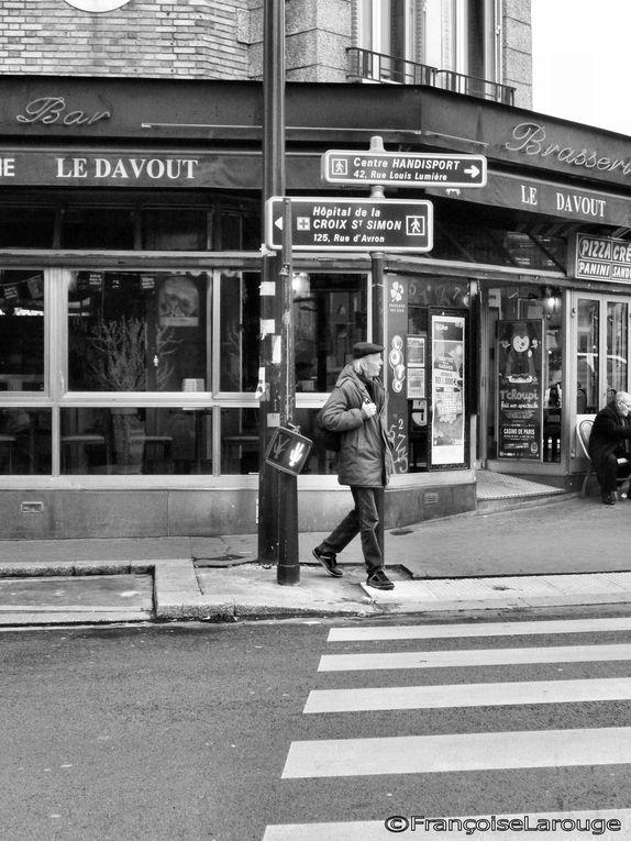Paris en noir et gris...