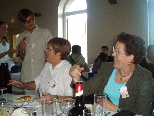 Première cousinade Hackspill à Hestroff et à Villers-Bettnach en septembre 2006