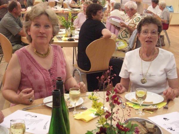 3e cousinade à Plaine, Comté de Salm, juin 2008, organisée par Paul et Josée Hackspill.