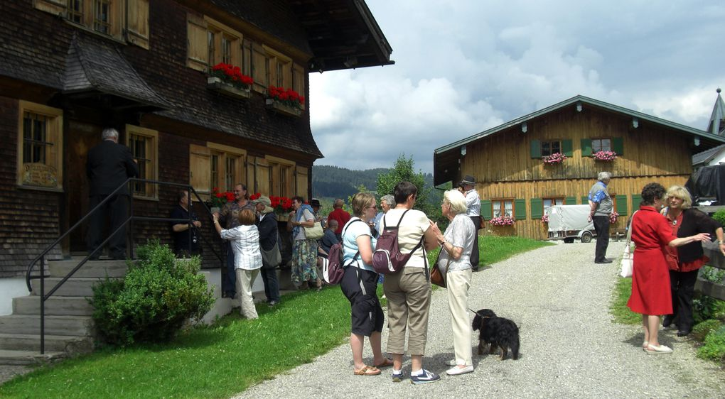 Us et coutumes à Oberstaufen en Allgäu.