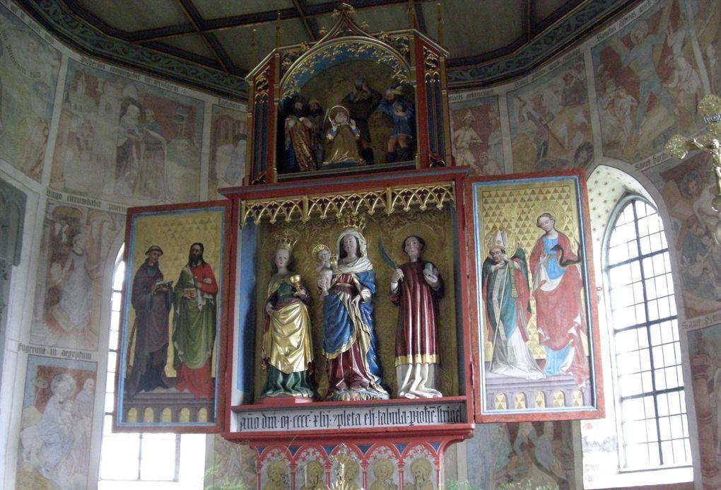 Chapelle gothique à Oberstauben-Zell du 15e