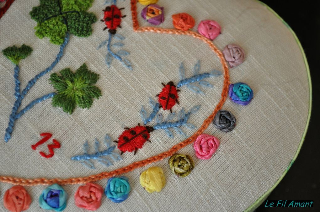 point de croix et broderie traditionnelle