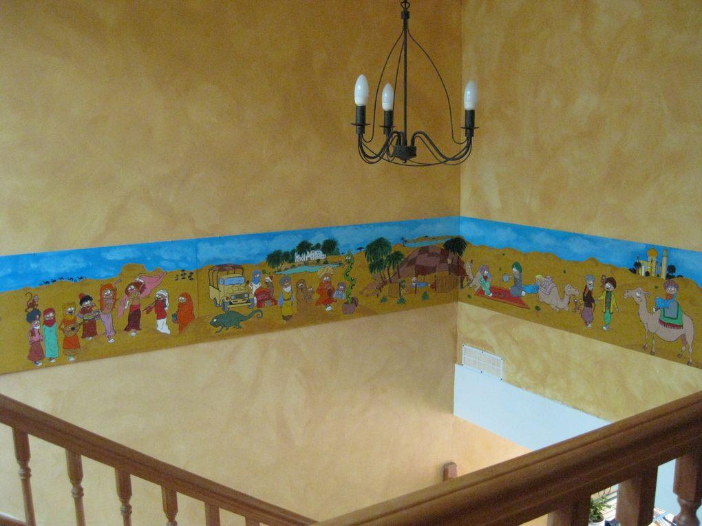 Commandes diverses de peintures murales ou tableaux