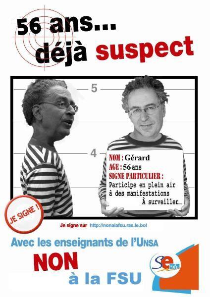 Revendications et Slogans du Se-UNSA Guadeloupe.