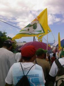 Ensemble de photographies prises durant les réunions, les défilés organisées par le syndicat dans l'Académie de Guadeloupe.