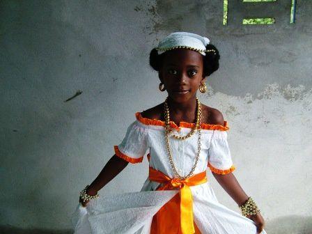 ACLJ Marigot. Photos carnaval 2008 le samedi gras. Elections mini reine et mini roi.