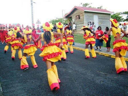 ACLJ Marigot. Photos carnaval 2008 dimanche gras