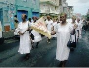 ACLJ Marigot. Photos rallye de majorettes en 2004 au Lamentin