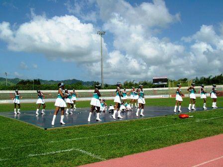ACLJ Marigot. Photos rallye de majorettes en 2006 au Lamentin.