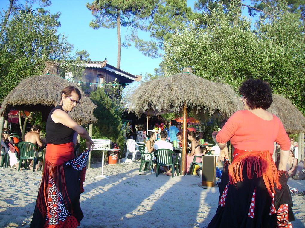 Ria Pita, l'équipe est restée active tout cet été par différentes manifestations, dont les soirées organisées au Lac de Gurçon