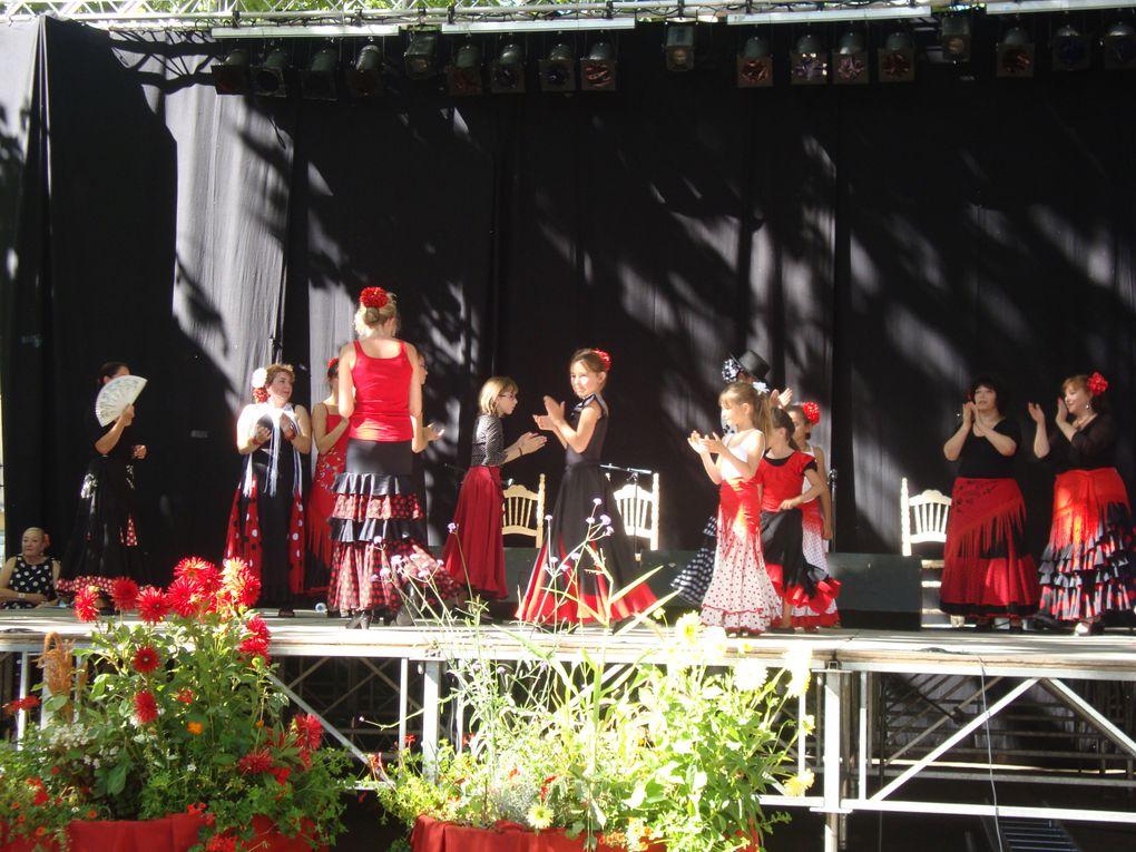lors du festival flamenco du 07/08/2010 organisé par les chicas del sol, le groupe Ria Pita Montcaret a fait une demonstration dans l'après midi après avoir défilé dans les rues le matin