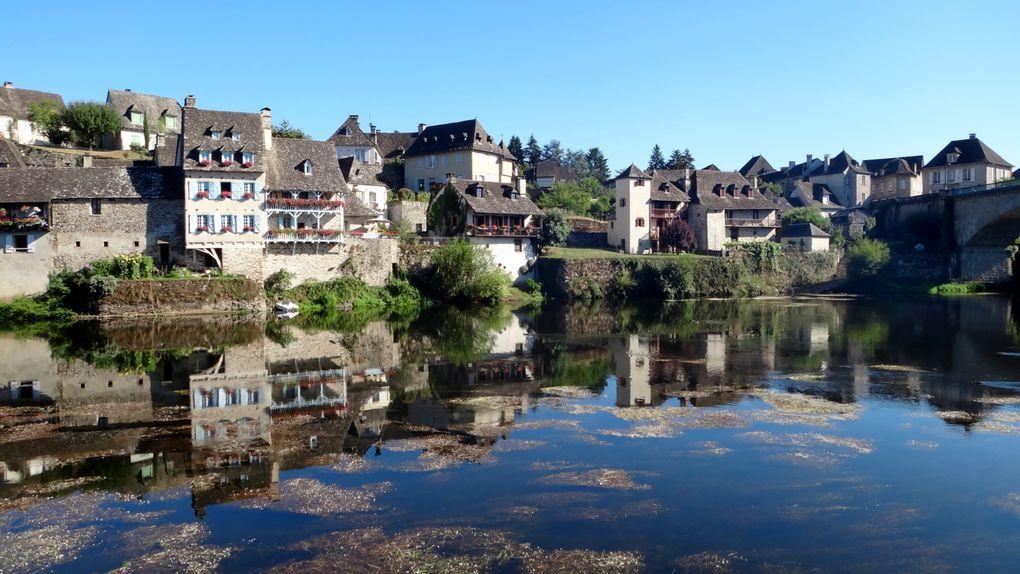 la rivière Dordogne en Corrèze