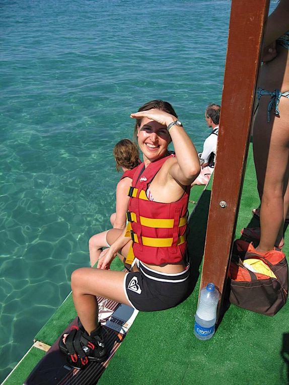 Une semaine a Kemer avec Claudia. Wake, escalade, trapeze et soirees !