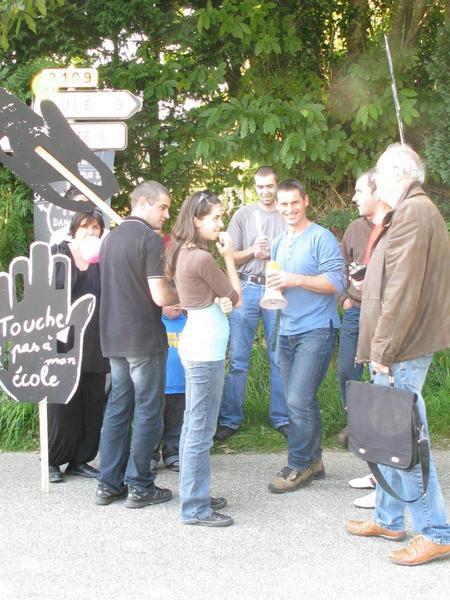 Album - Manifestation 20 septembre 2008 la Trinité Langonnet