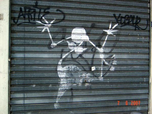 L'art se manifeste partout à l'extérieur