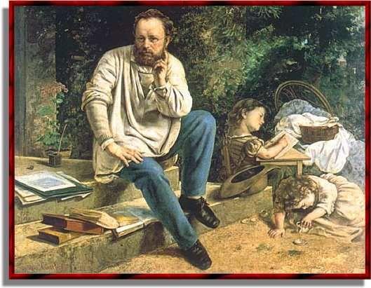 Gustave Courbet, est un peintre français, chef de file du courant réaliste. Son réalisme fait scandale...