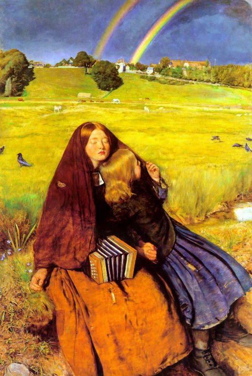 John Everett Millais est un peintre et illustrateur britannique préraphaélite (8  juin 1829 à Southampton – 13 août 1896 à Londres).