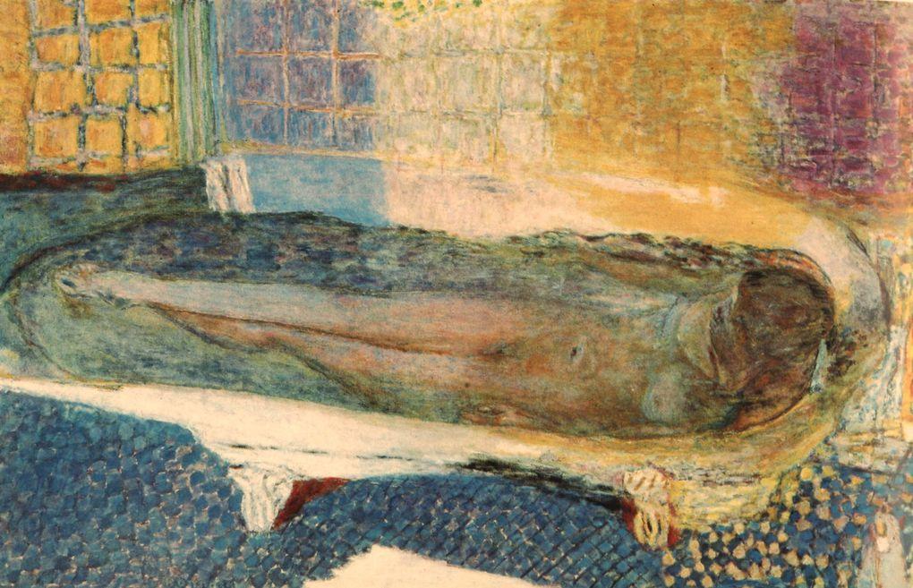 Pierre Bonnard, (1867 1947) est un peintre français. Peintre de personnages, figures, nus, portraits, paysages animés, intérieurs, natures mortes, fleurs et fruits, il était aussi graveur, dessinateur et illustrateur. Artiste postimpressionniste,