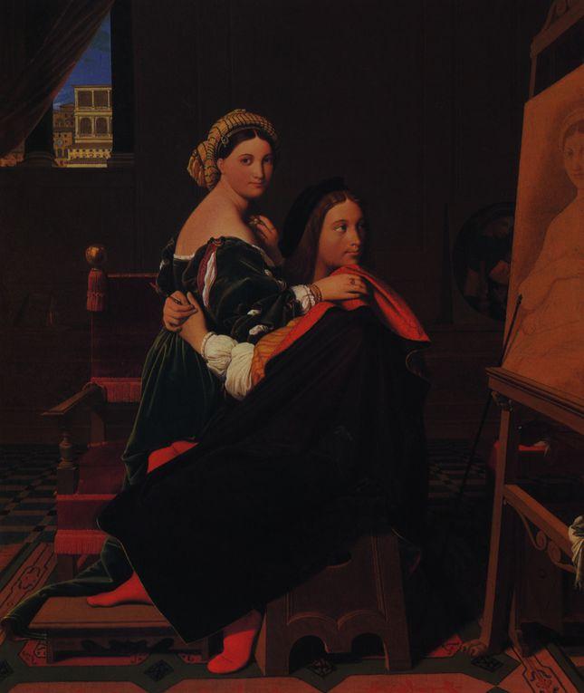 Raffaello Sanzio, plus connu sous le nom de Raphaël (Raffaello), né le 6 avril ou le 28 mars 1483 à Urbino et mort le 6 avril 1520 à Rome, est un peintre et architecte italien de la Renaissance.