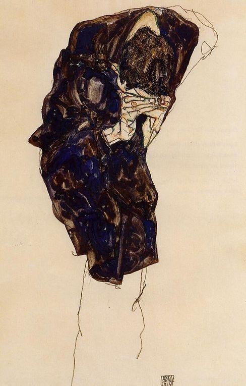 Egon Schiele est un peintre et un dessinateur autrichien né le 12 juin 1890 à Tulln près de Vienne, décédé le 31 octobre 1918 à Vienne.
