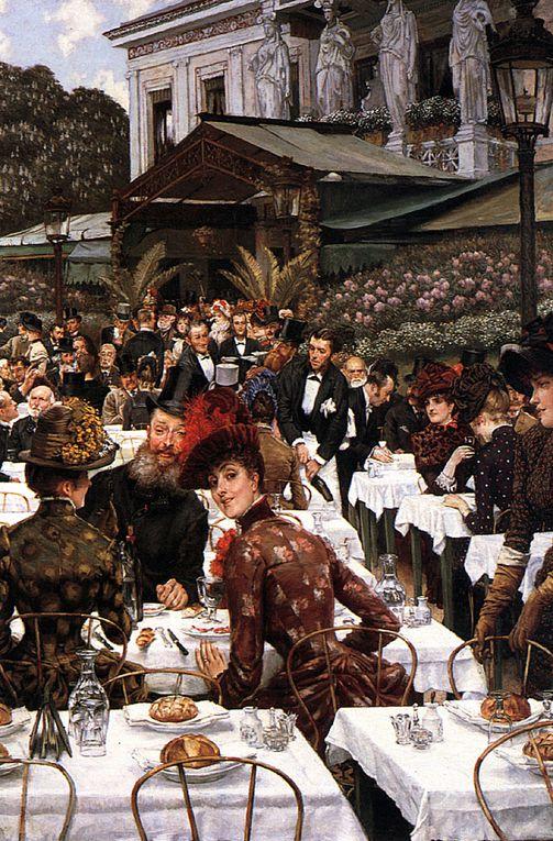 Jacques-Joseph Tissot, dit James Tissot, né à Nantes, 15 octobre 1836 et mort à Chenecey-Buillon le 8 août 1902, est un peintre et graveur français, très populaire surtout en grande Bretagne.