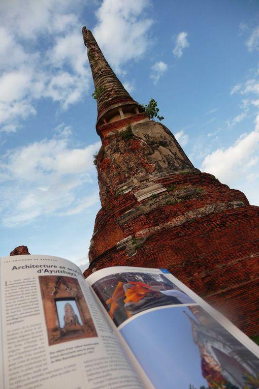 Premier week end sur l'île paradisiaque de Koh Samet en compagnie de Comice, rencontrée à la guesthouse de Bangkok.Escapade d'une journée à Ayuttayah, ancienne capital de l'Empire du Siam
