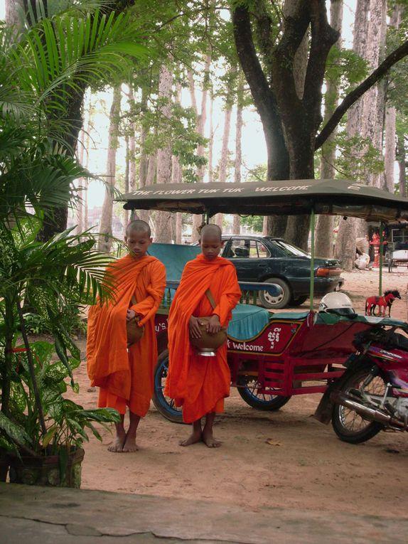 Album - Temples d'Angkor-Cambodge- Juillet 2009