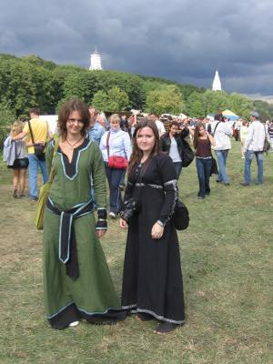 """Festival historique """"Temps et epoques"""", Moscou, Jour de la ville 2011"""