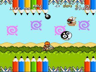 Des screenshots des jeux testés.