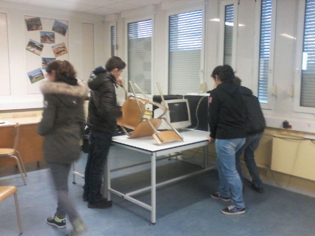 Atelier groupe ULIS et 6ème SEGPA + Collège au Cinéma (6ème)